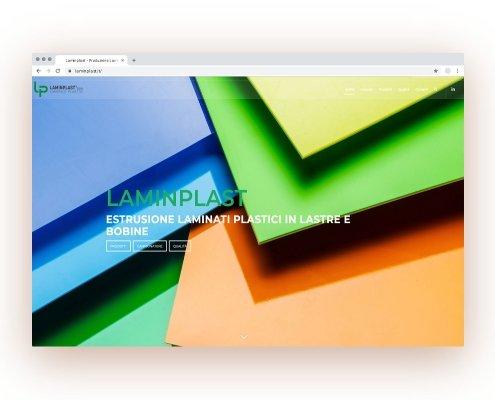 Realizzazione Sito Web & SEO | PMI | Laminplast | Agile srl
