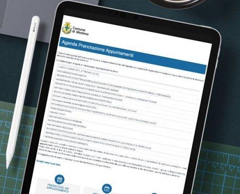 Responsive e AGID web App | PA | Comune di Modena | Agile srl