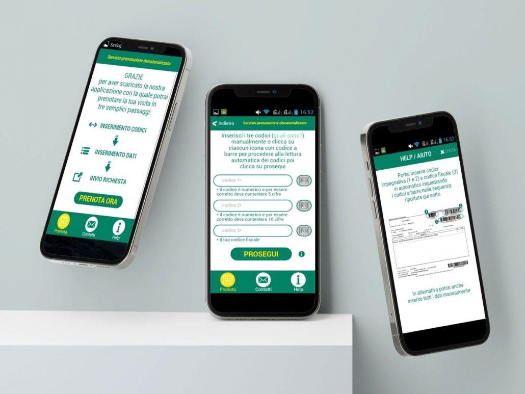Sviluppo Mobile App   Grandi Imprese   App Ospedale   Agile srl