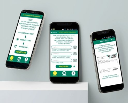Sviluppo Mobile App | Grandi Imprese | App Ospedale | Agile srl
