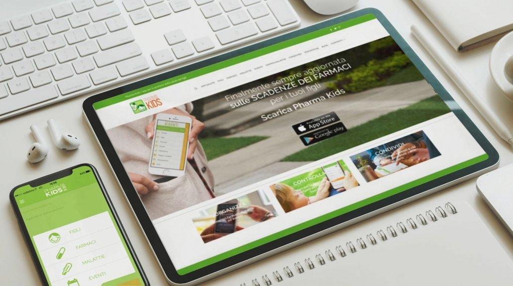 Sviluppo Mobile App iOS e Android   PMI   App Pharmakids   Agile srl